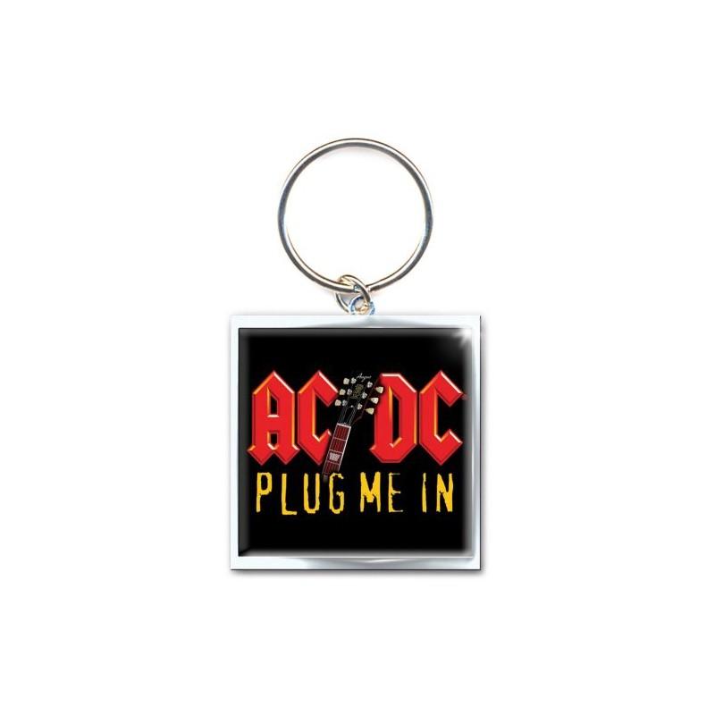 Brelok na klucze AC/DC Plug Me In Metal Keychain - Keychain
