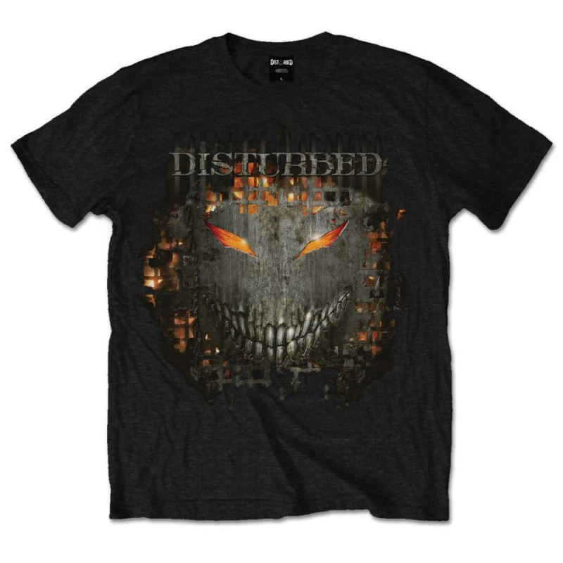 Disturbed Mens Tee: Up Your Fist