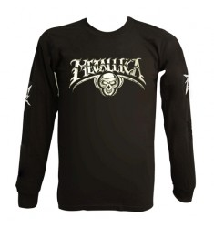 Koszulka z długim rękawem Metallica - Skull & 4Ms - longsleeve