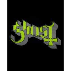 Koszulka Ghost - Green Grey Keyline Logo Skinny Ladies - t-shirt
