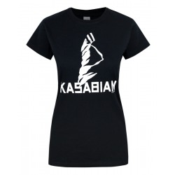 Koszulka Kasabian- Ultra Black Skinny Ladies - t-shirt
