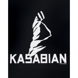 KASABIAN - Ultra Black Skinny Ladies Black