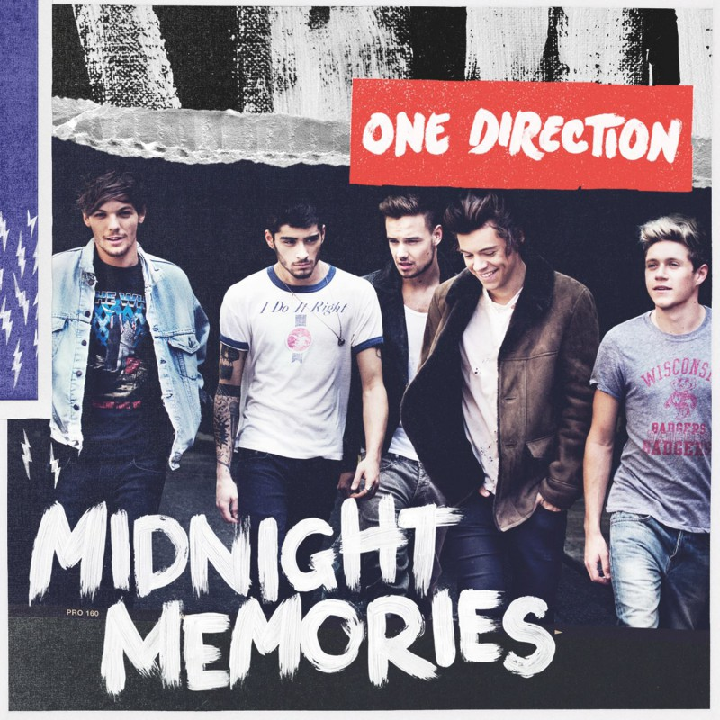Płyta One Direction - Midnight Memories - CD