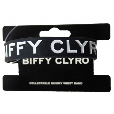 Opaska na ręke - Biffy Clyro - Logo Gummy Band - band