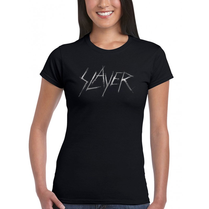 Koszulka Slayer - Scratchy Logo Ladies - t-shirt