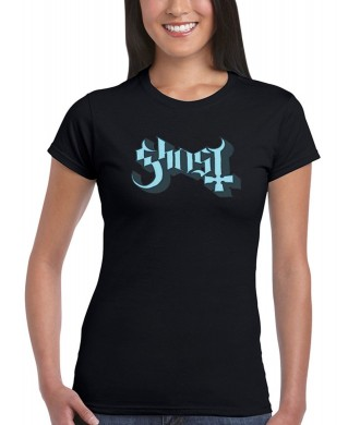 Koszulka Ghost - Logo Girl's (Blue) - t-shirt