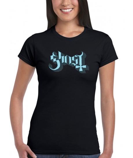 Koszulka Ghost - Logo Girl's (Blue) - t-shirt