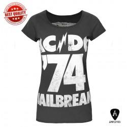 Koszulka AC/DC - JAILBREAK 74 LADIES CREW (Amplified) - t shirt damska