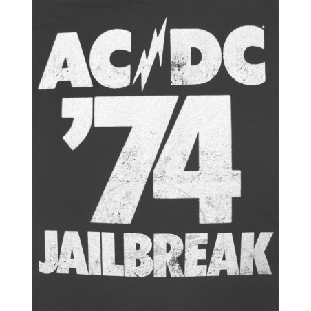 Koszulka AC/DC - JAILBREAK 74 LADIES CREW (Amplified) - t shirt damska