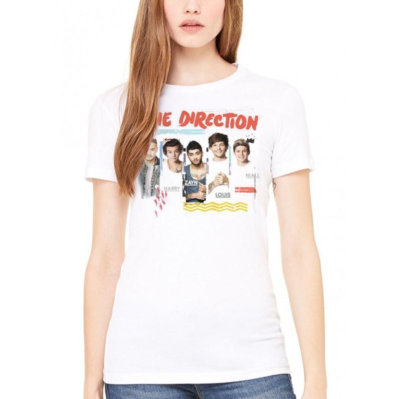 Koszulka One Direction - Individual Shots Ladies - t-shirt