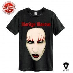 Koszulka MARILYN MANSON - FACE (Amplified) MEN - t-shirt
