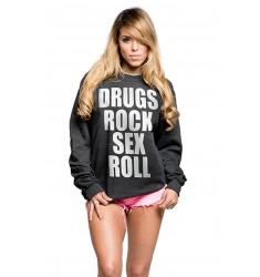 Bluza damska - Kill Brand - Drugs & Sex & Rock'n'Roll