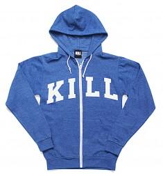 Bluza na zamek KILL BRAND - KILL VARSITY Hooded Sweatshirt with Zip