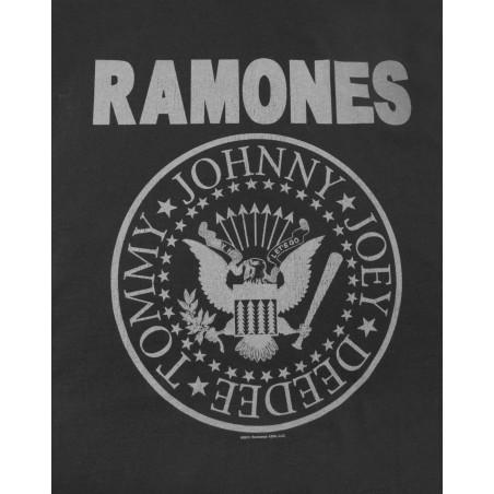 Koszulka RAMONES LOGO MENS VEST CHARCOAL (Amplified)