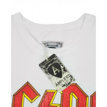 Koszulka AC/DC LOGO MENS T WHITE (Amplified) - t-shirt