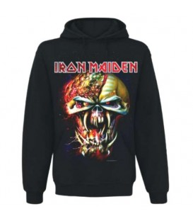 Bluza IRON MAIDEN MEN'S HOODED TOP: FINAL FRONTIER BIG HEAD - bluza z kapturem - hoodie
