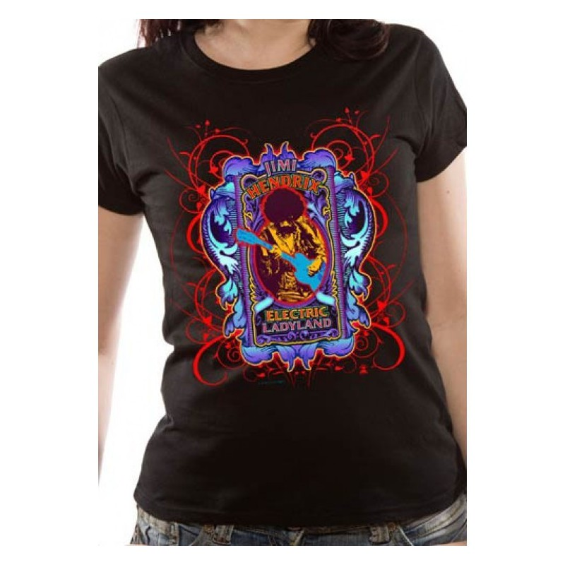 Koszulka damska Jimi Hendrix - Electric Lady - t-shirt