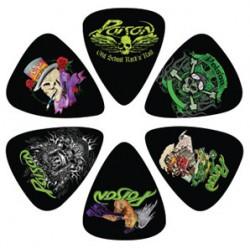 Kostki gitarowe POISON - PERRI 6 PACK PICKS - zestaw / komplet kostek gitarowych