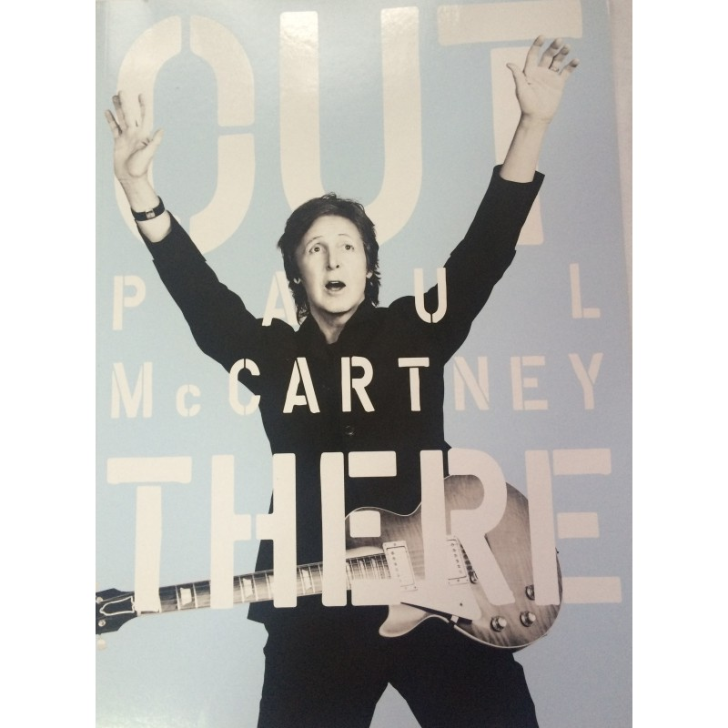 Paul McCartney Out There Tour Book