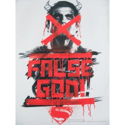 Koszulka BATMAN vs. SUPERMAN -False God t shirt