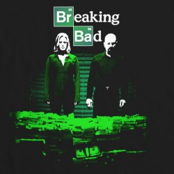 Koszulka BREAKING BAD  CONTAINER STASH - T-Shirt  (Walter, Jesse, Saul) - serial