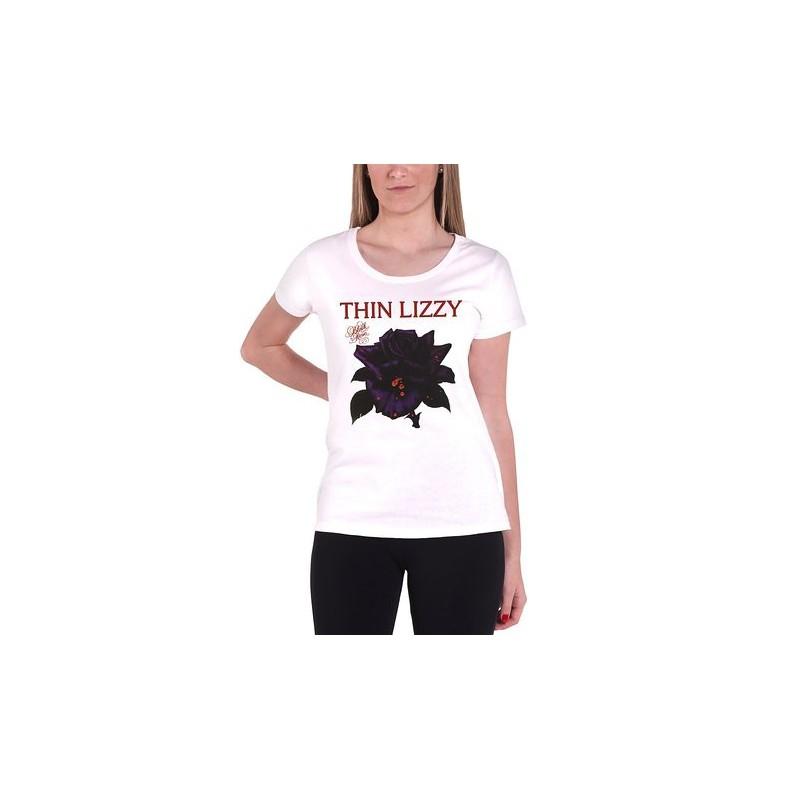 Koszulka damska Thin Lizzy BLACK ROSE T-Shirt