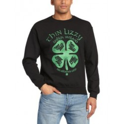 Bluza Thin Lizzy FOUR LEAF CLOVER Crew Neck Sweater Crew Neck Sweater