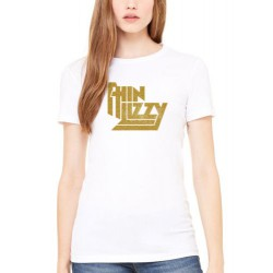 Koszulka damska Thin Lizzy Gold Logo T-Shirt