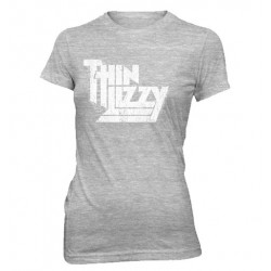 Koszulka damska Thin Lizzy WHITE VINTAGE LOGO T-Shirt