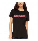 Koszulka damska Iron Maiden - Original Logo - t - shirt