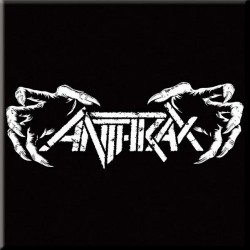 Magnes na lodówkę - ANTHRAX FRIDGE MAGNET: DEATH HANDS