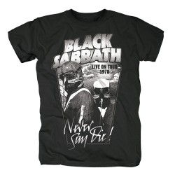 Koszulka BLACK SABBATH MEN'S TEE: NEVER SAY DIE t shirt