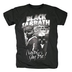 Koszulka BLACK SABBATH MEN'S TEE: NEVER SAY DIE t shirt
