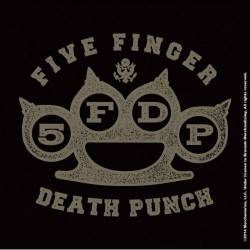 Korkowa podstawka pod kubek - FIVE FINGER DEATH PUNCH SINGLE CORK COASTER: BRASS KNUCKLE