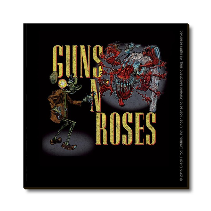 Magnes na lodówkę - GUNS N' ROSES FRIDGE MAGNET: BULLET