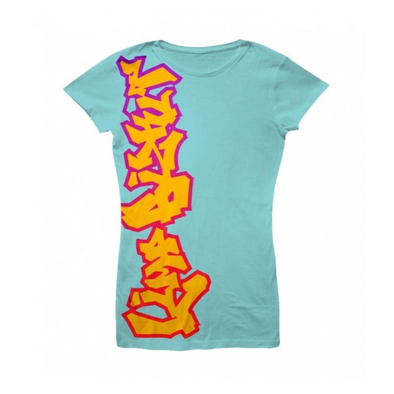 Koszulka Limp Bizkit - Big Logo Up Blue - t-shirt