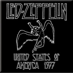 Magnes na lodówkę - LED ZEPPELIN FRIDGE MAGNET: 1977' USA TOUR