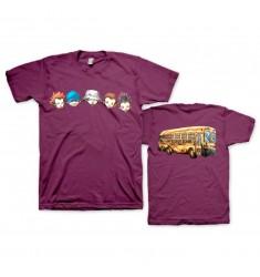 Koszulka Limp Bizkit - School Bus Maroon - t-shirt