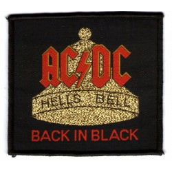 Naszywka AC/DC: Hells Bells