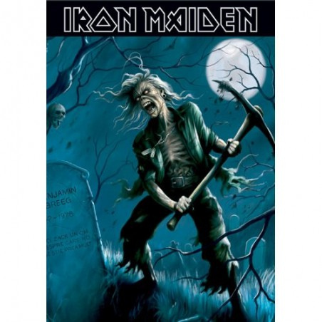 Naszywka Iron Maiden: Piece of Mind