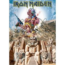Pocztówka Iron Maiden: Somewhere Back in Time