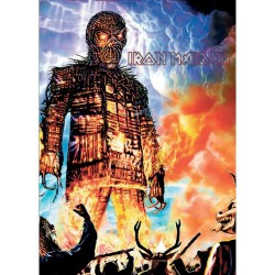 Pocztówka Iron Maiden: Wicker Man