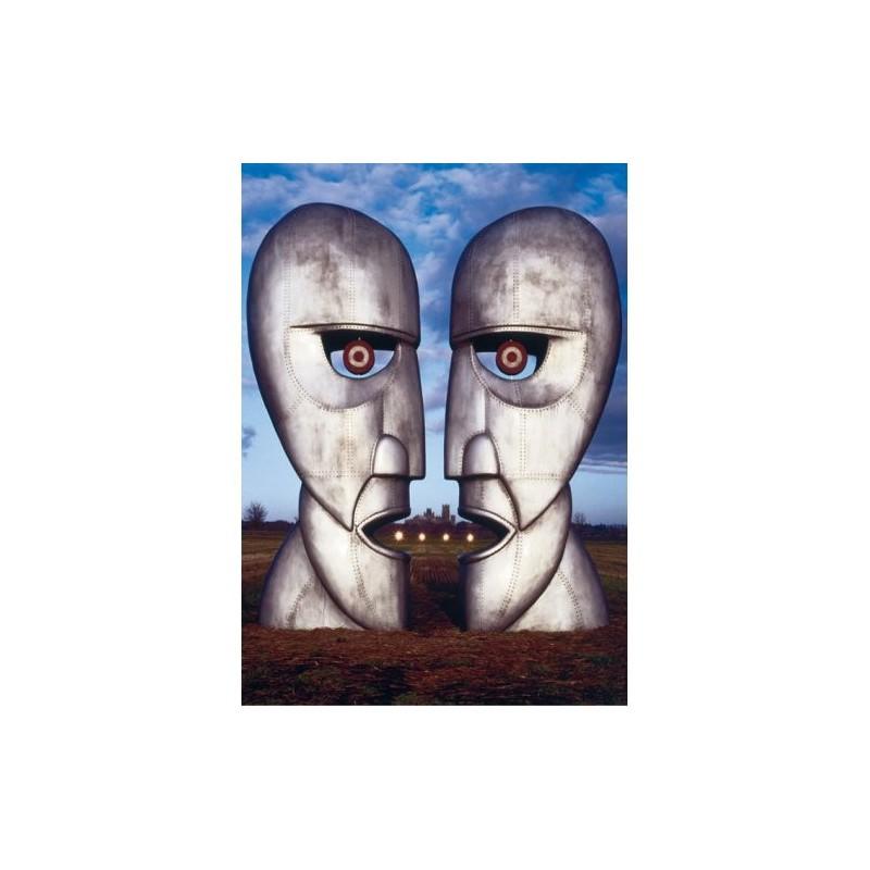 Pocztówka Pink Floyd: The Division Bell Metal Heads