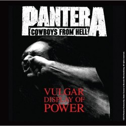 Korkowa podstawka pod kubek - Pantera Single Cork Coaster: Vulgar