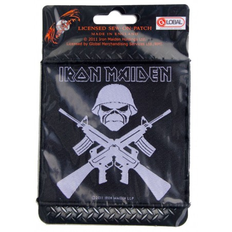 Naszywka Iron Maiden: The Final Frontier Vintage Skull