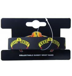 Opaska na ręke - Guns 'N' Roses - Logo Gummy Band - wristband