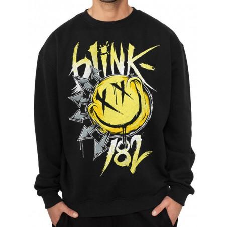Bluza BLINK 182 - SMILEY Crewneck Sweatshirt