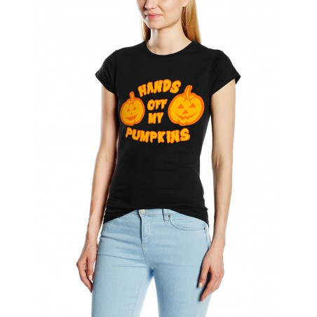 Koszulka damska - HALLOWEEN ORIGINALS - HANDS OFF t-shirt