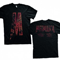Koszulka Metallica - M Load Black Men's T-Shirt
