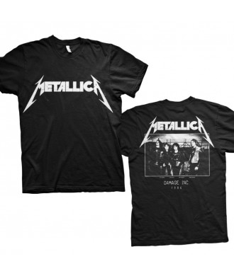 Koszulka Metallica - MOP Photo Black Men's T-Shirt